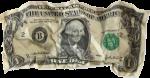 Gyűrött dollár